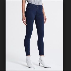 AG ADRIANO GOLDSCHMIED | Blue Skinny Ankle Pants